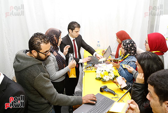 ملتقى التوظيف العاشر بجامعة المستقبل (12)