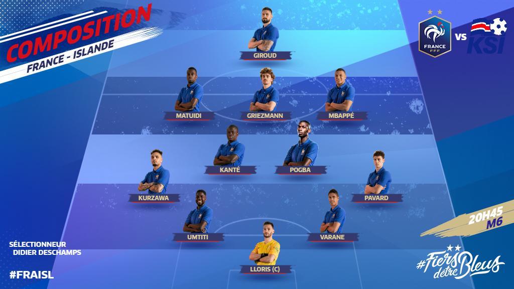 تشكيل منتخب فرنسا