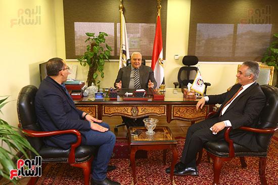 اليوم السابع تنفرد غدا بحوار حصرى مع رئيس الوطنية للانتخابات ونائبه حول الاستفتاء (2)