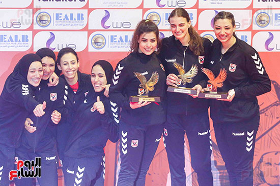 سيدات الكرة الطائرة وقرطاج التونسى (111)