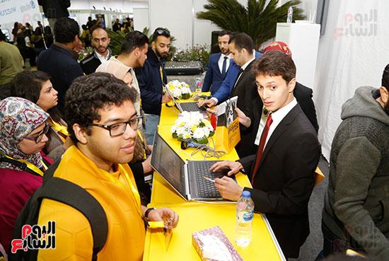 ملتقى التوظيف العاشر بجامعة المستقبل (13)