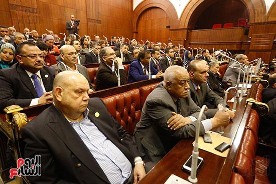 جلسة استماع دكتور علي عبد العال مع النواب (7)