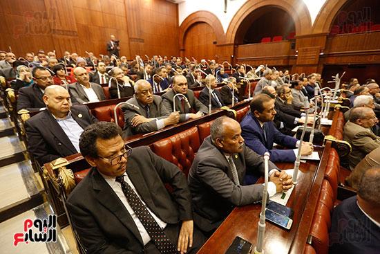 جلسة استماع دكتور علي عبد العال مع النواب (6)