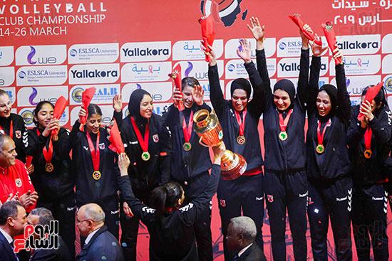 سيدات الكرة الطائرة وقرطاج التونسى (117)