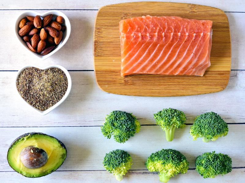 اتباع نمط غذائى صحى يقلل خطر الاصابة بالنوبة القلبية
