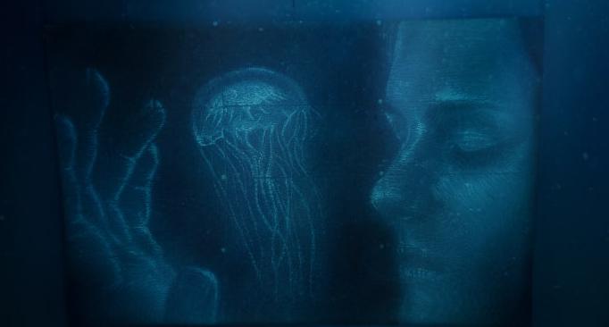 رسم تحت الماء