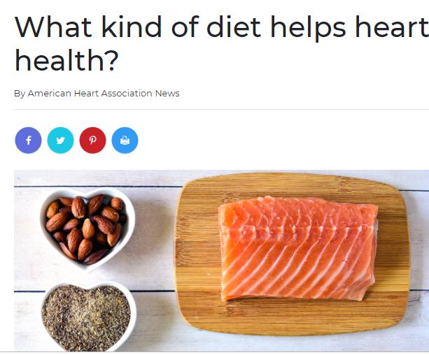 الطعام الصحى يحمى من النوبات القلبية