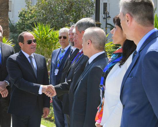 الرئيس عبد الفتاح السيسى مع نظيره البلغارى (4)