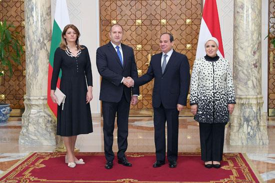 الرئيس عبد الفتاح السيسى مع نظيره البلغارى (6)