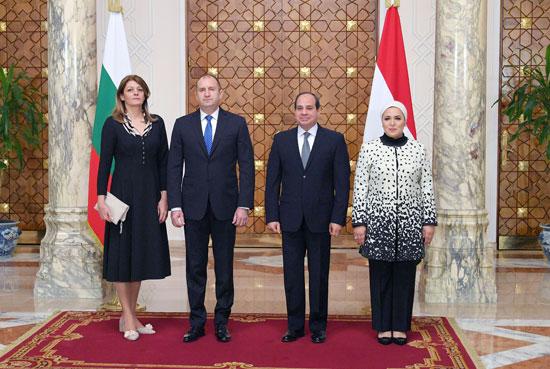 الرئيس عبد الفتاح السيسى مع نظيره البلغارى (5)