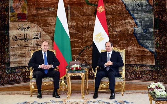 الرئيس عبد الفتاح السيسى مع نظيره البلغارى (7)