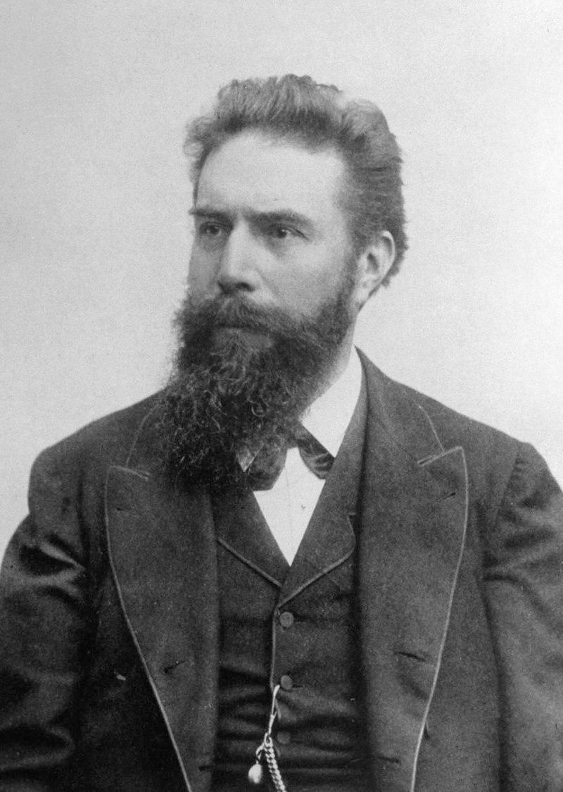فيلهلم كونراد رونتجن مكتشف أشعة إكس