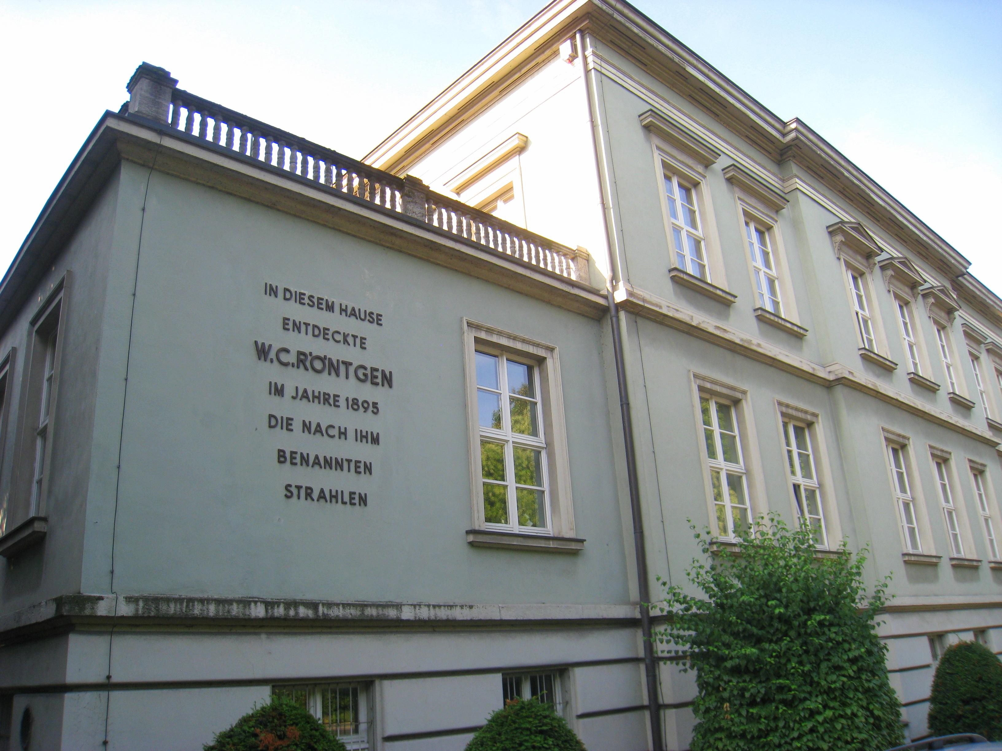 متحف فيلهلم كونراد رونتجن