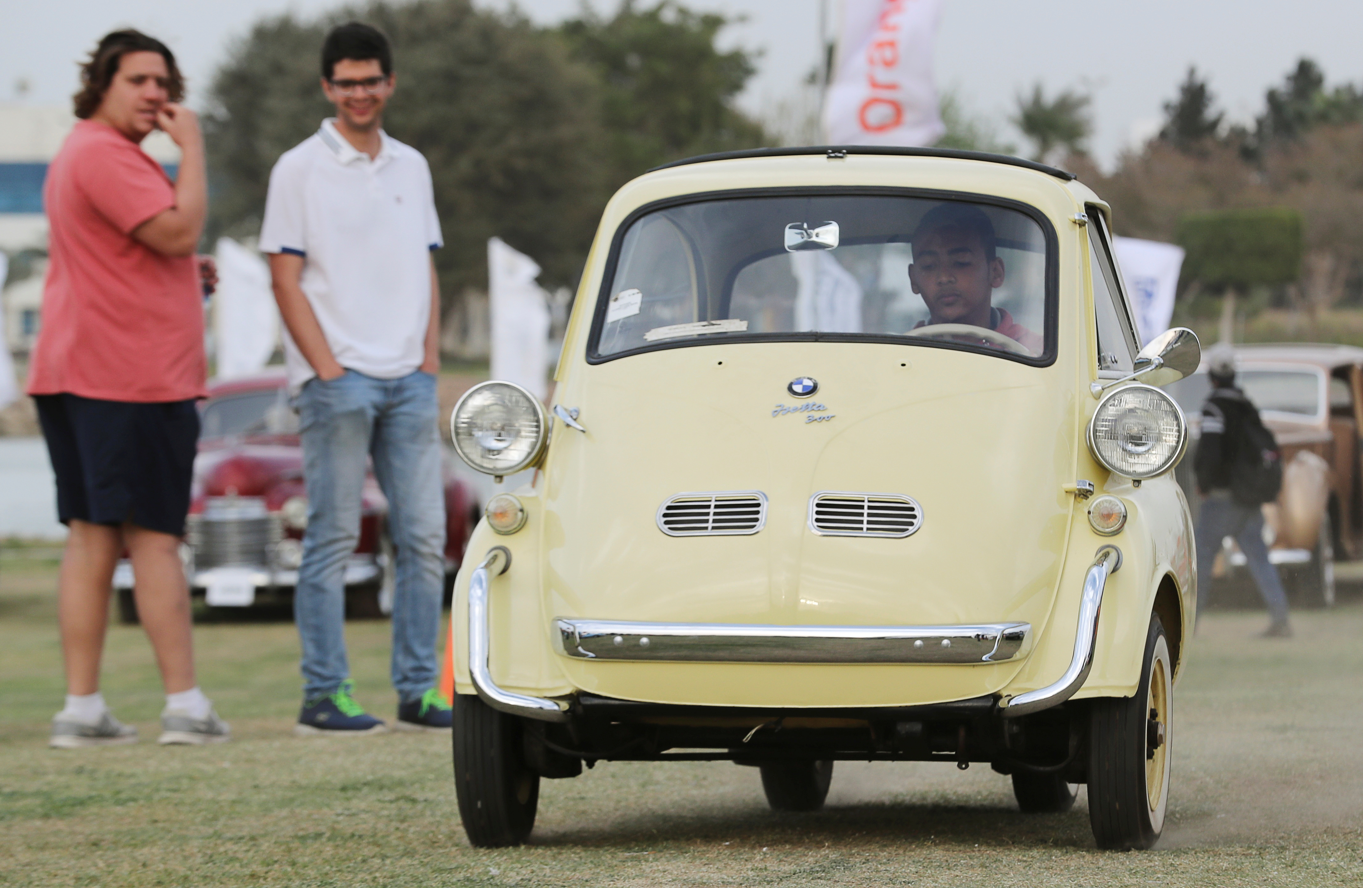 جانب من معرض السيارات القديمة فى القاهرة (2)