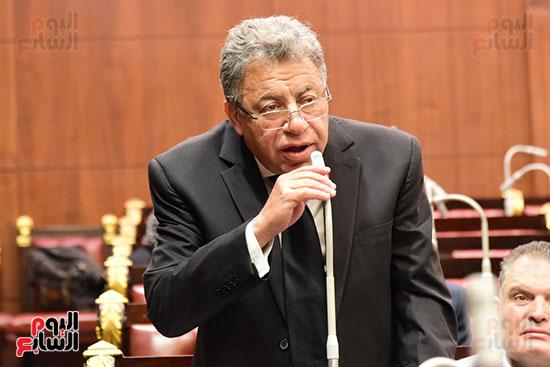 الدكتور على عبد العال رئيس مجلس النواب يستمع أسئلة و لمقترحات رؤساء الأحزاب السياسية ورجال السياسة وشباب الأحزاب حول تعديلات الدستور (5)