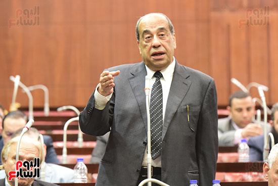 الدكتور على عبد العال رئيس مجلس النواب يستمع أسئلة و لمقترحات رؤساء الأحزاب السياسية ورجال السياسة وشباب الأحزاب حول تعديلات الدستور (6)
