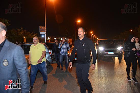 تشييع جثمان والدة أحمد صلاح حسنى (4)