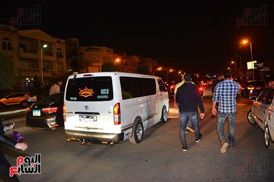 تشييع جثمان والدة أحمد صلاح حسنى (5)