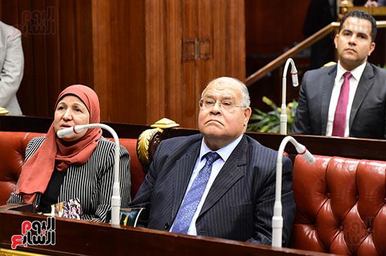 على عبد العال رئيس مجلس النواب يستمع أسئلة و لمقترحات رؤساء الأحزاب السياسية (9)