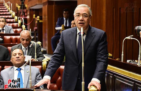 على عبد العال رئيس مجلس النواب يستمع أسئلة و لمقترحات رؤساء الأحزاب السياسية (11)