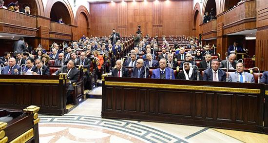 على عبد العال رئيس مجلس النواب يستمع أسئلة و لمقترحات رؤساء الأحزاب السياسية (4)