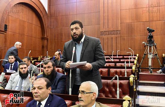 على عبد العال رئيس مجلس النواب يستمع أسئلة و لمقترحات رؤساء الأحزاب السياسية (3)