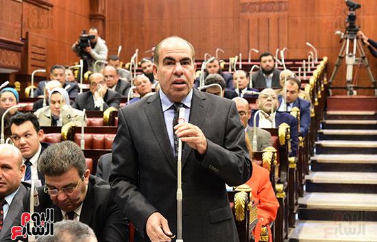 على عبد العال رئيس مجلس النواب يستمع أسئلة و لمقترحات رؤساء الأحزاب السياسية (12)