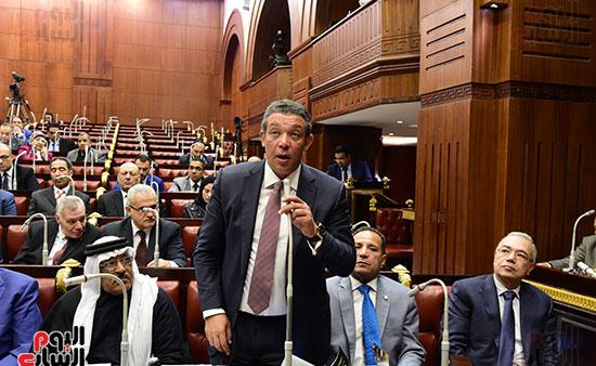 على عبد العال رئيس مجلس النواب يستمع أسئلة و لمقترحات رؤساء الأحزاب السياسية (14)