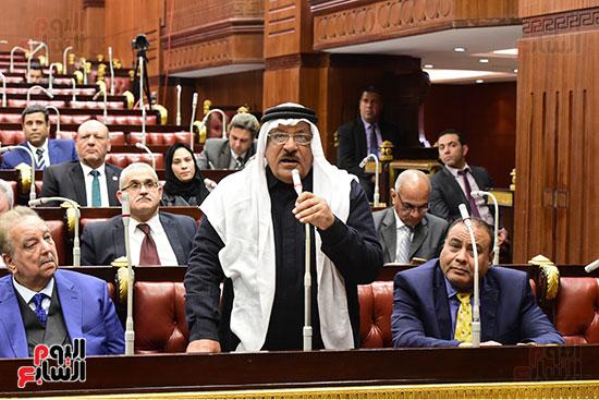 الدكتور على عبد العال رئيس مجلس النواب يستمع مقترحات رؤساء الأحزاب السياسية ورجال السياسة وشباب الأحزاب حول تعديلات الدستور (5)
