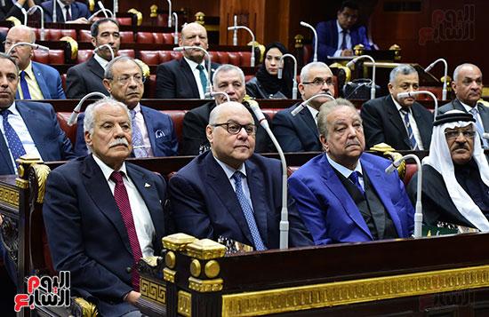 على عبد العال رئيس مجلس النواب يستمع أسئلة و لمقترحات رؤساء الأحزاب السياسية (7)