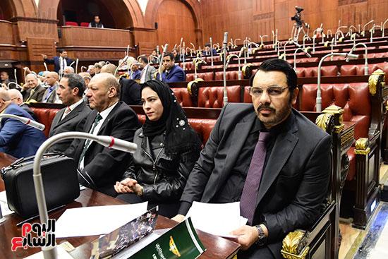 الدكتور على عبد العال رئيس مجلس النواب يستمع أسئلة و لمقترحات رؤساء الأحزاب السياسية ورجال السياسة وشباب الأحزاب حول تعديلات الدستور (2)