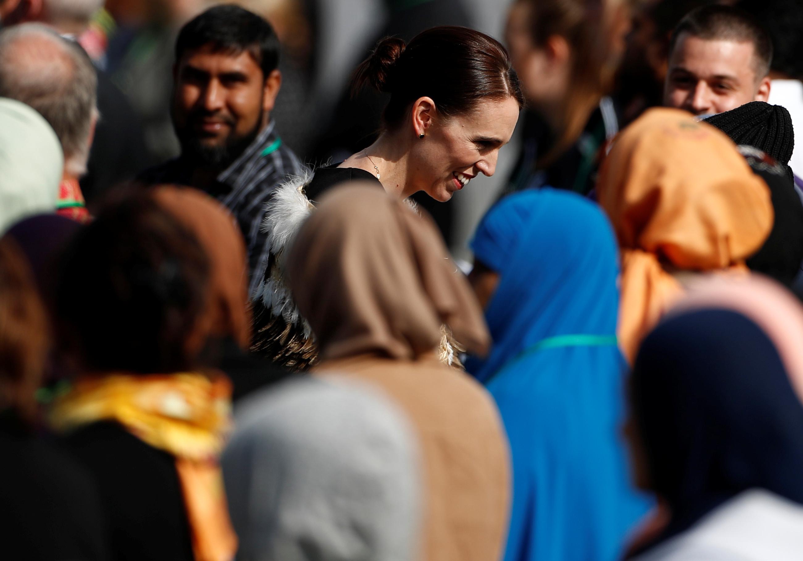 جمعة حاشدة فى نيوزيلندا لتأبين ضحايا المسجدين (1)