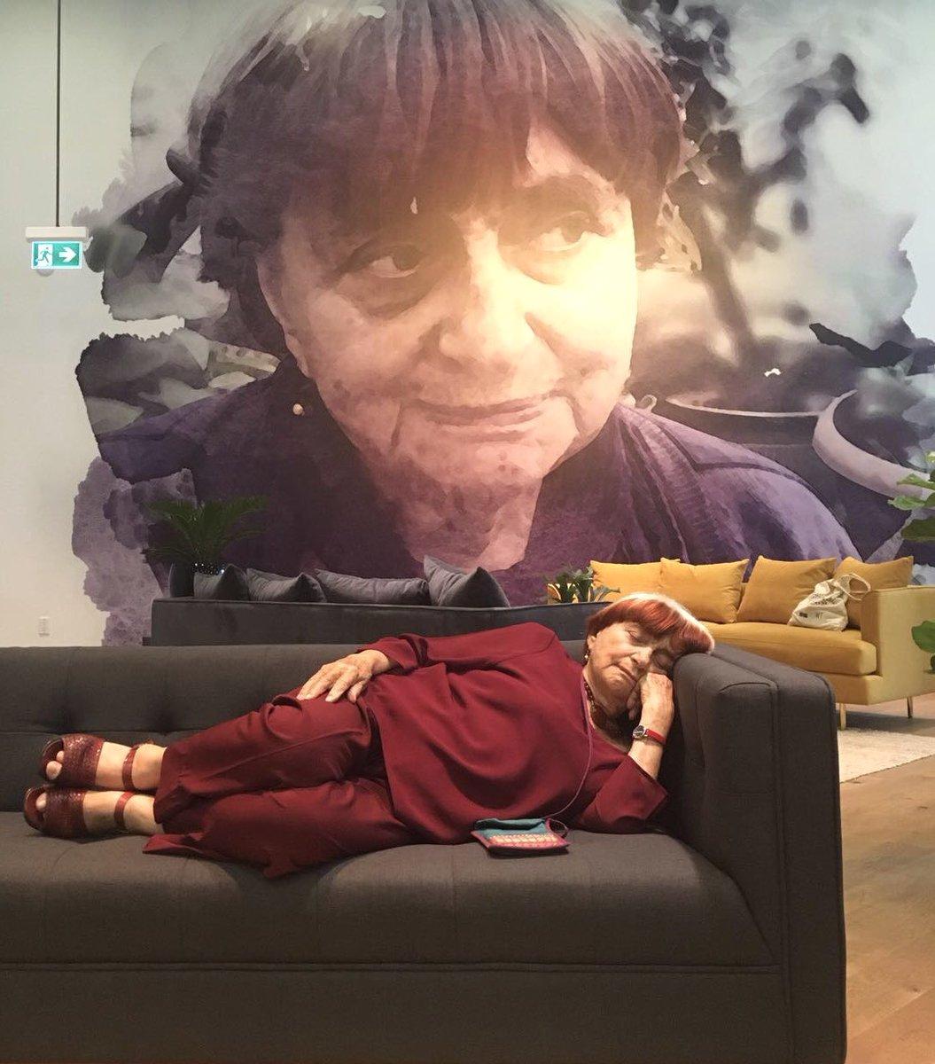المخرجة الفرنسية الراحلة أجنيس فاردا