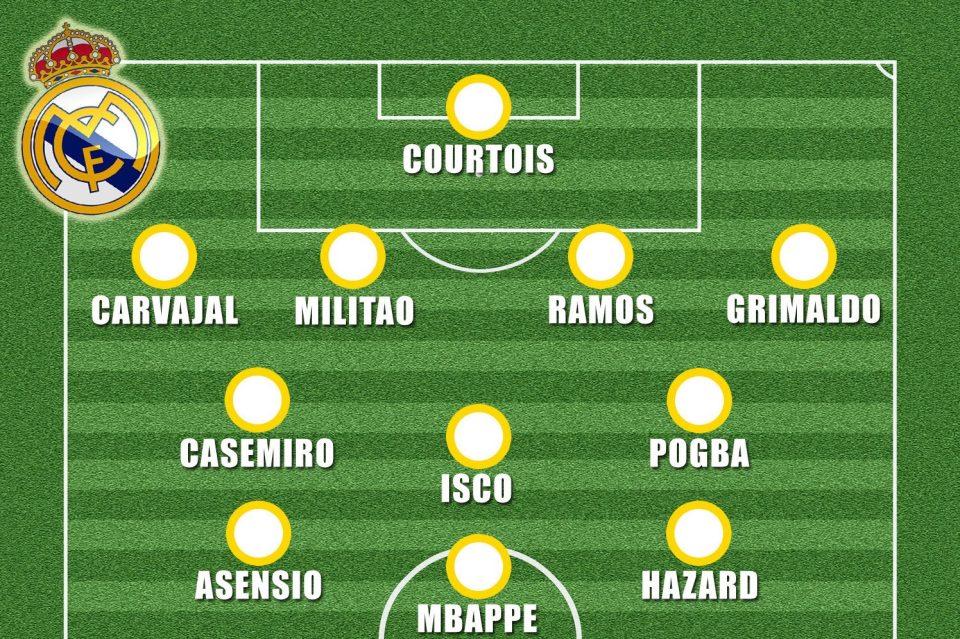 تشكيل ريال مدريد المتوقع الموسم المقبل