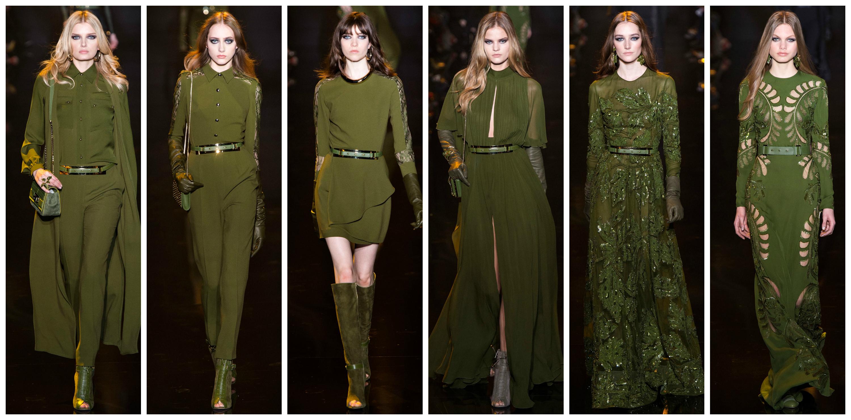 Olive-Green-Dresses