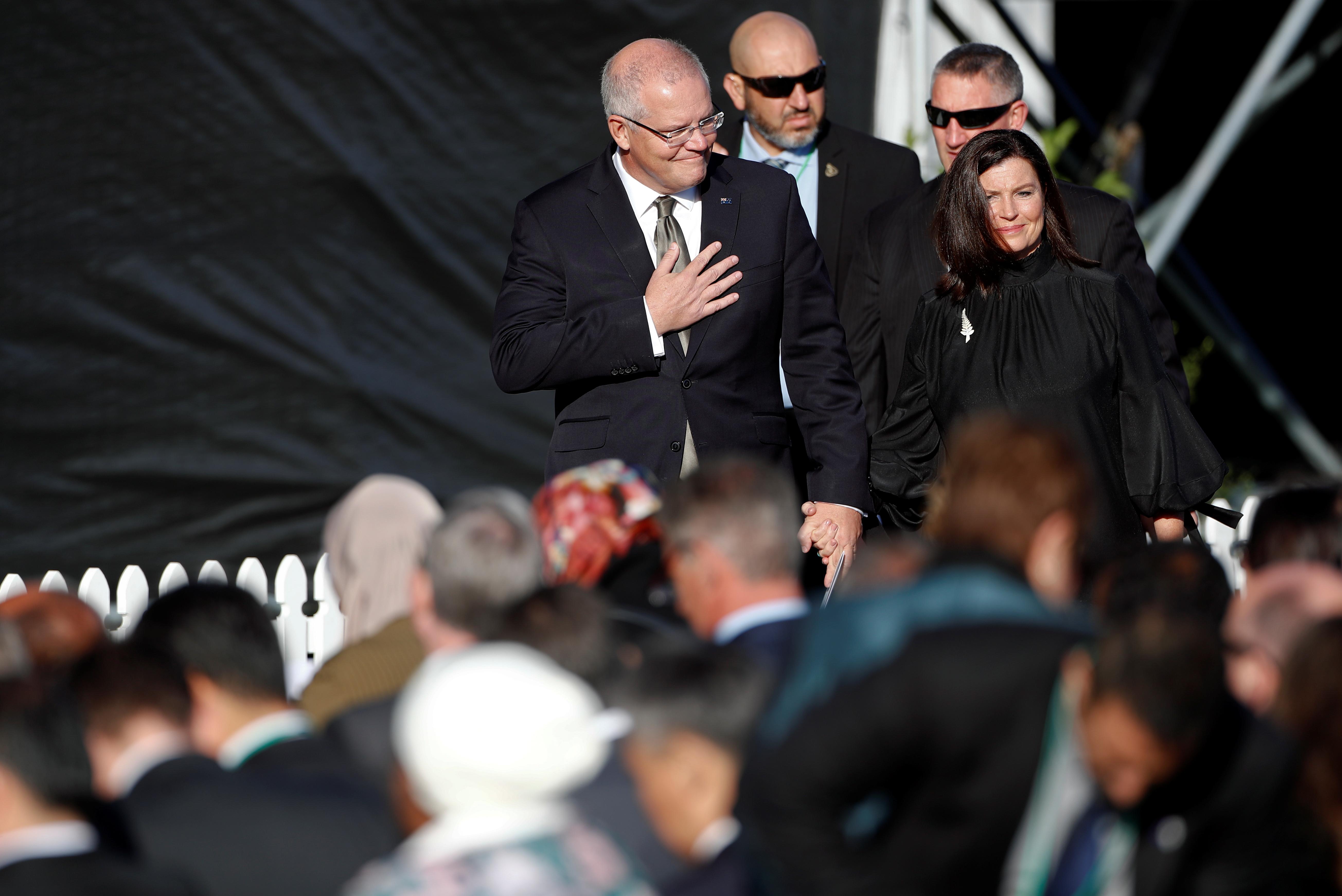 جمعة حاشدة فى نيوزيلندا لتأبين ضحايا المسجدين (2)