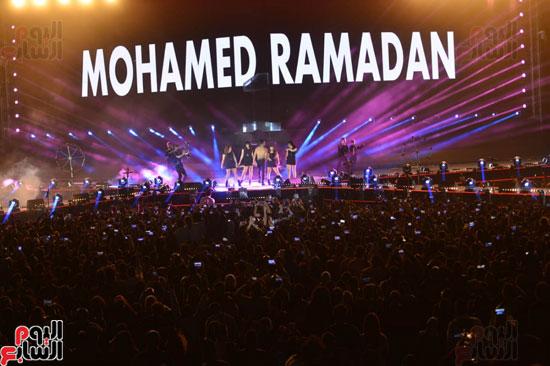 حفل محمد رمضان (1)