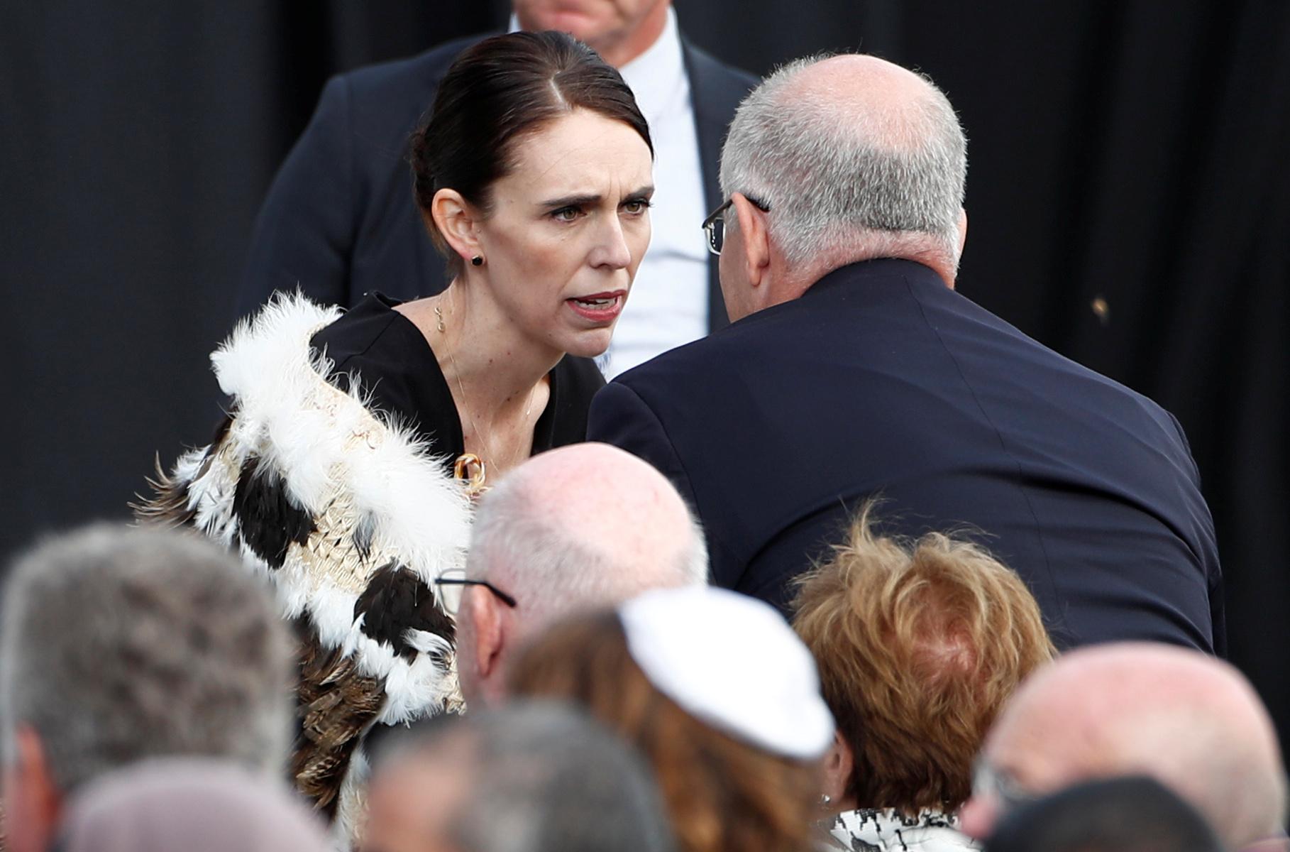 جمعة حاشدة فى نيوزيلندا لتأبين ضحايا المسجدين (8)