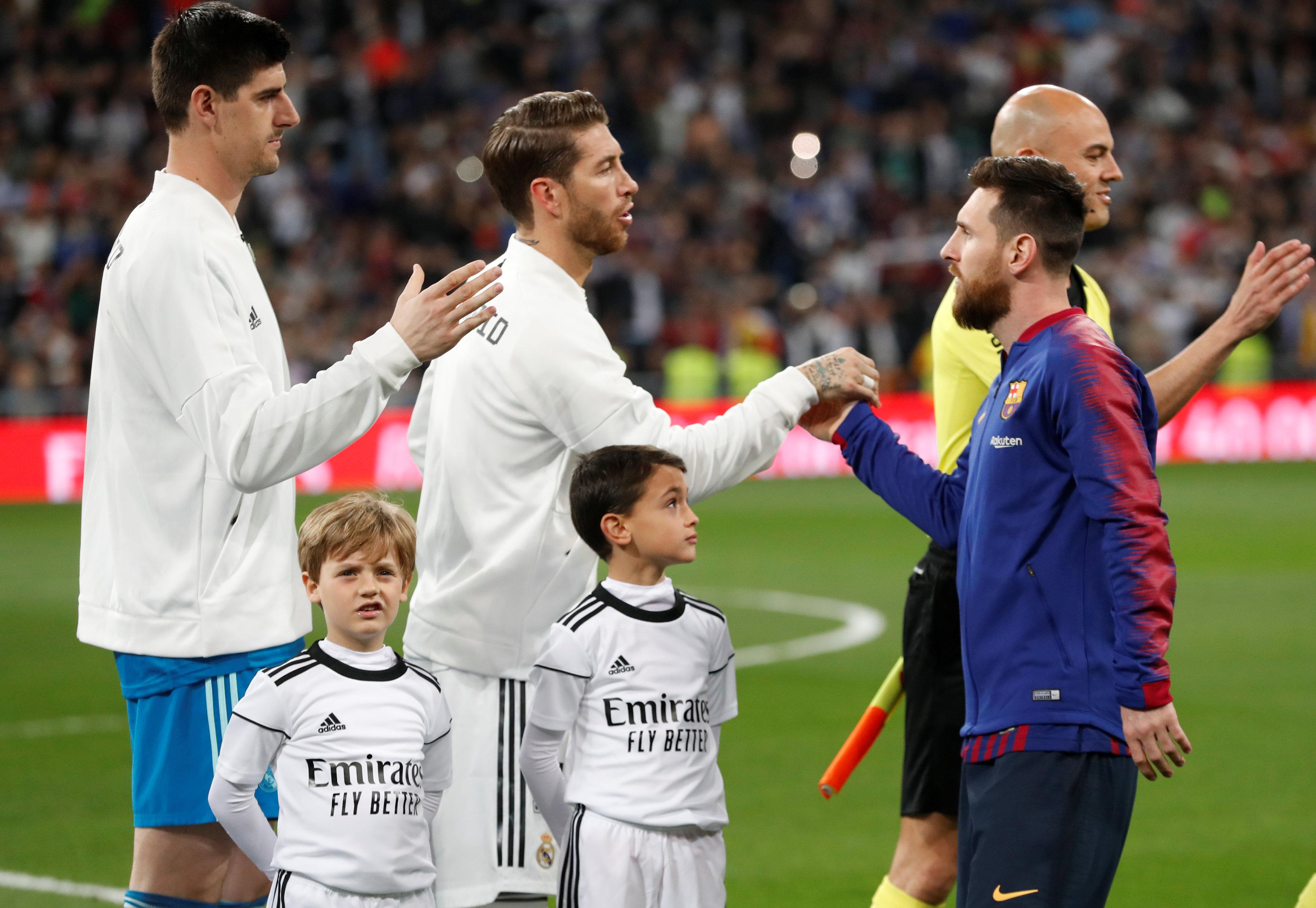 الريال ضد برشلونة  (1)