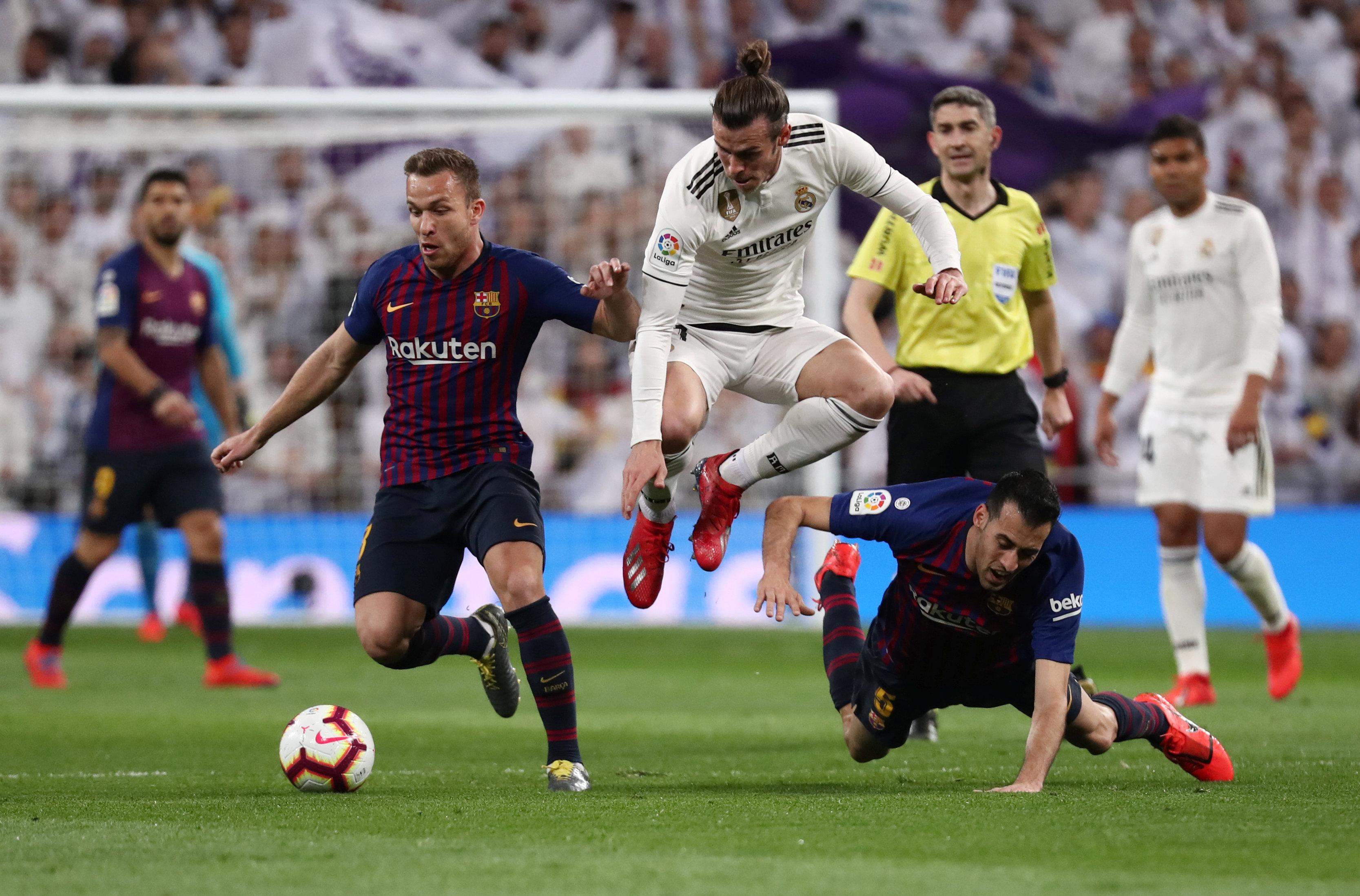 الريال ضد برشلونة  (2)