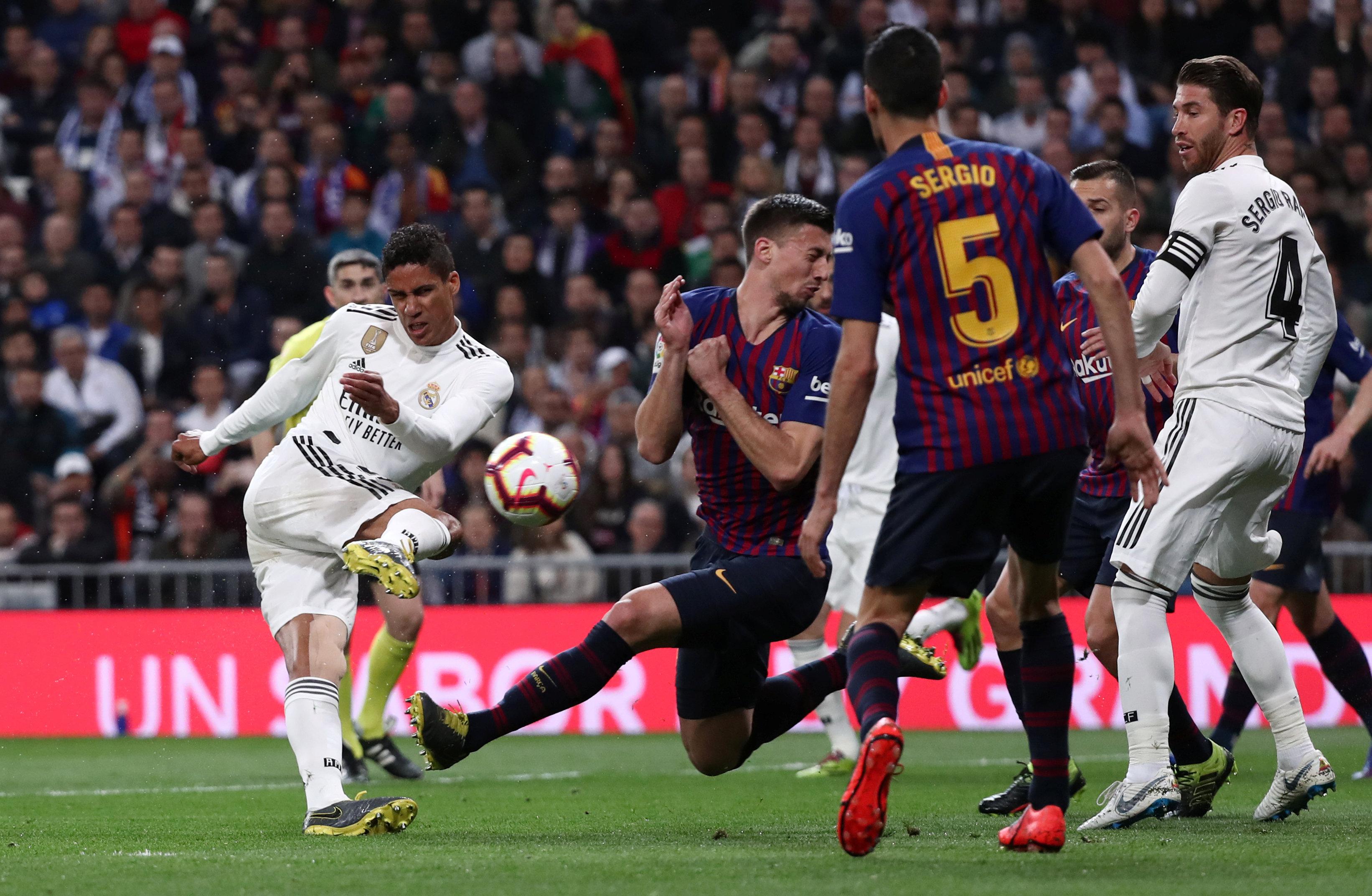 الريال ضد برشلونة  (8)