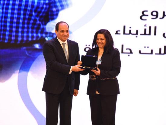 احتفالية المجلس القومى للمرأة لتكريم المرأة المصرية والأم المثالية (8)