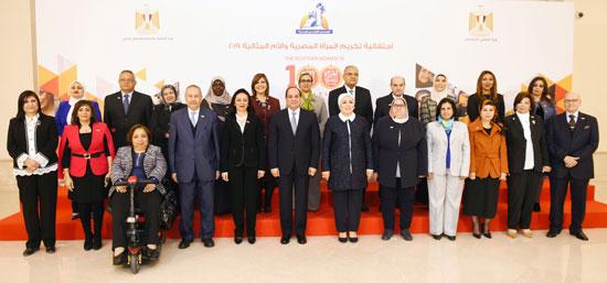احتفالية المجلس القومى للمرأة لتكريم المرأة المصرية والأم المثالية (3)