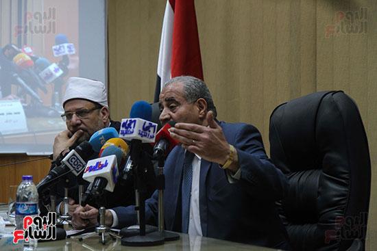 توقيع بروتوكول بين وزارة التموين ووزارة الاوقاف (10)