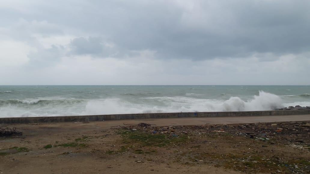 غيوم كثيفة تغطى سماء الإسكندرية (3)