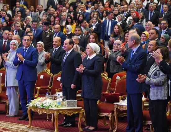 احتفالية المجلس القومى للمرأة لتكريم المرأة المصرية والأم المثالية (15)