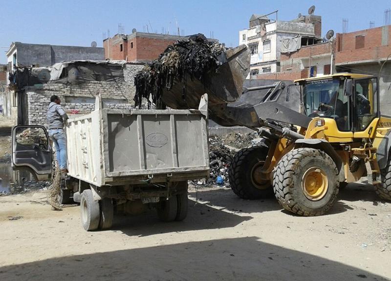 حملة لإزالة القمامة