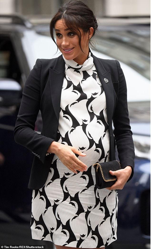 ميجان ماركل تستعد لاستقبال مولودها الأول خلال الشهر المقبل