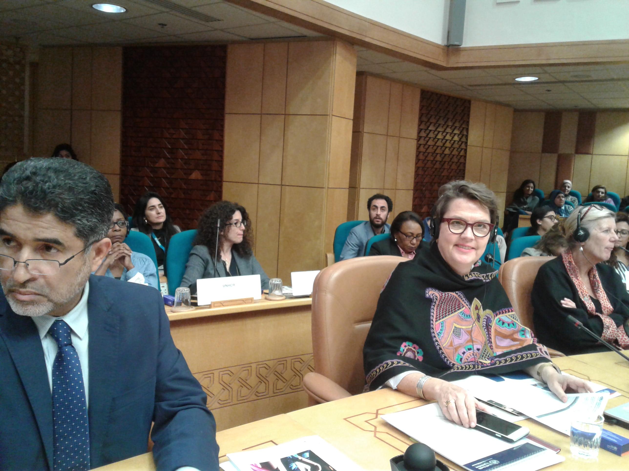 كريستينا البرتين، الممثل الاقليمى لمكتب الأمم المتحدة،
