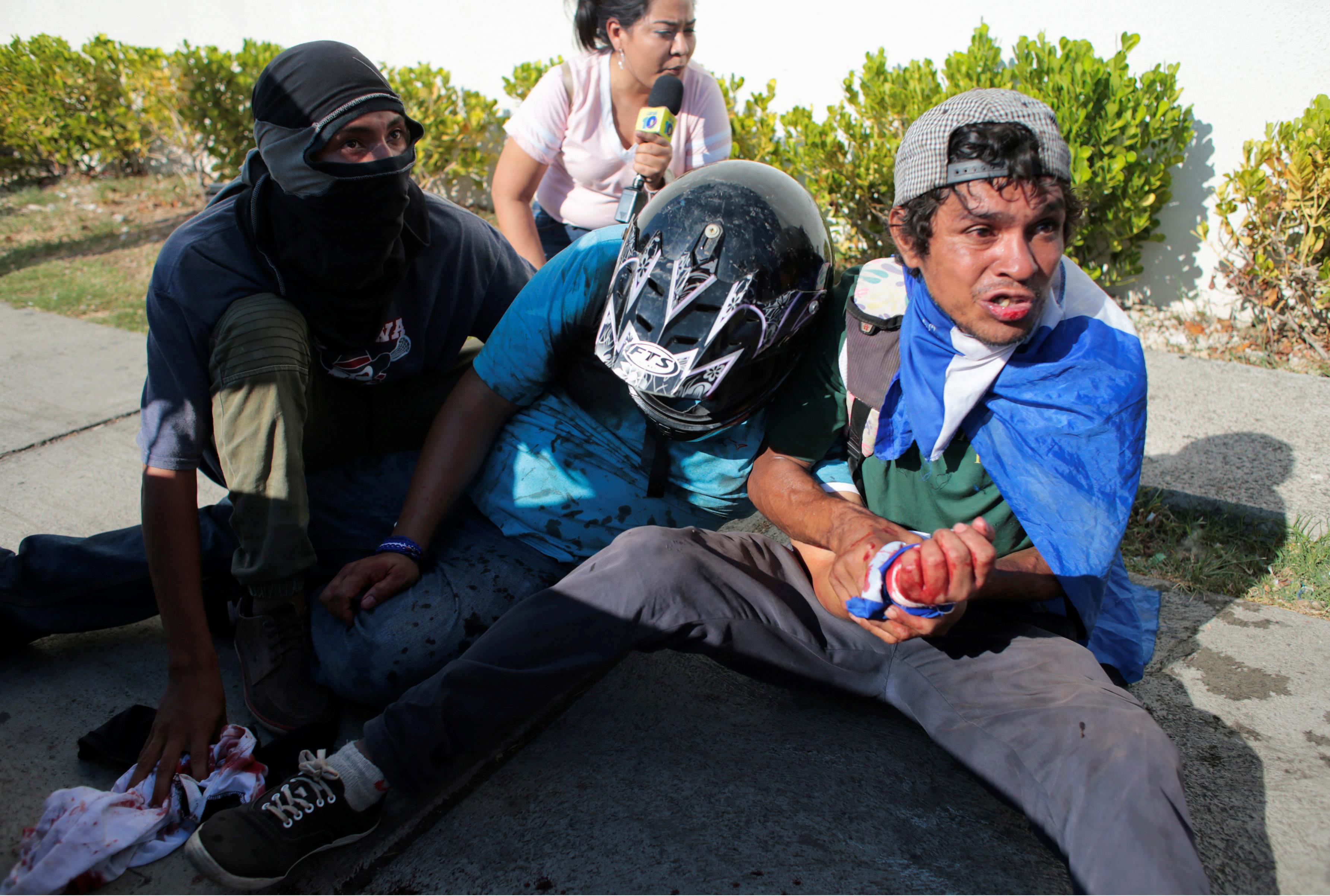 جانب من أحداث نيكاراجوا